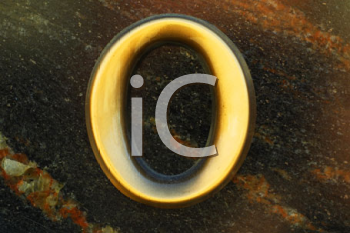 Royalty Free Photo of the Letter O