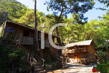 Royalty Free Photo of a Hut in Turkey