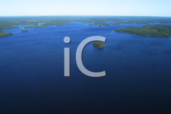 Royalty Free Photo of an Aerial of Finland