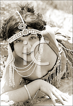 Royalty Free Photo of a Flapper