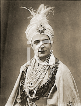 Royalty Free Photo of a Man Wearing a Turban