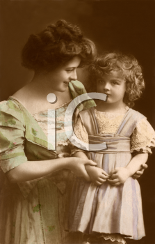Royalty Free Photo of a Woman and Child