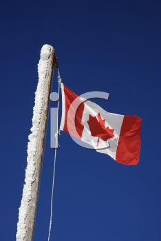 Royalty Free Photo of a Canadian flag