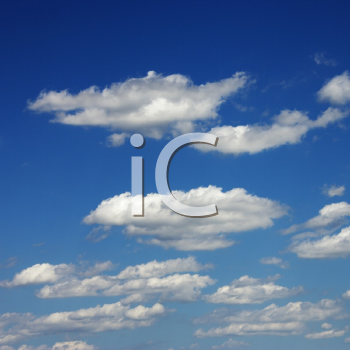 Royalty Free Photo of Clouds in the Sky