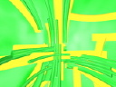 Royalty Free Video of Yellow and Green Lines