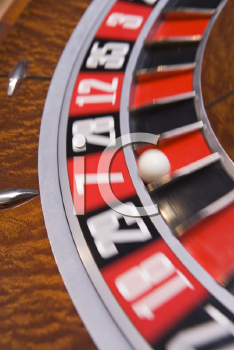 Royalty Free Photo of a Roulette Wheel