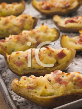 Royalty Free Photo of a Potato Skins