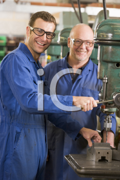 Royalty Free Photo of Two Machinists
