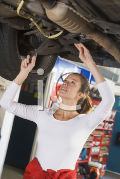Royalty Free Photo of a Mechanic