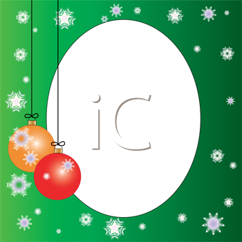 Royalty Free Clipart Image of an Ornament Background
