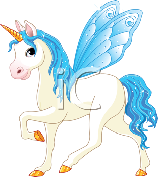 ca a Unicorn With Wings