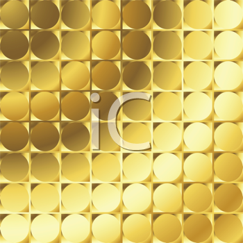 Royalty Free Clipart Image of a Golden Texture