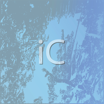Royalty Free Clipart Image of a Blue Textured Background