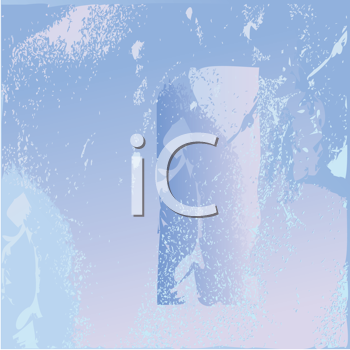 Royalty Free Clipart Image of a Frozen Glass Texture