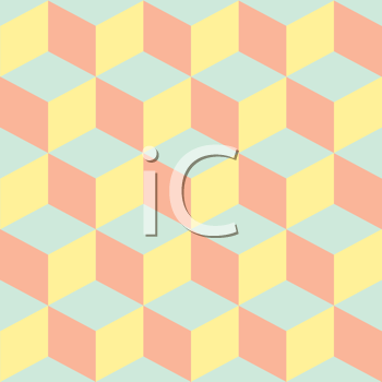 Royalty Free Clipart Image of a Pastel Pattern