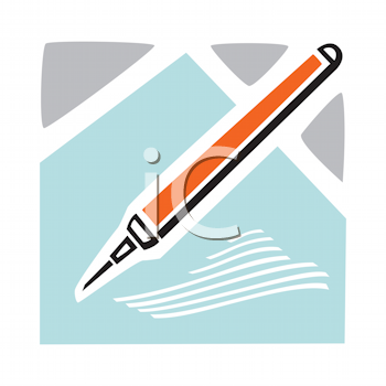 Royalty Free Clipart Image of a Chisel