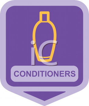 Royalty Free Clipart Image of Conditioners