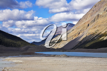Royalty Free Photo of Mountains in Canada