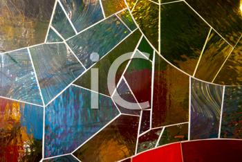 Royalty Free Photos of a Stained Glass Mosaic