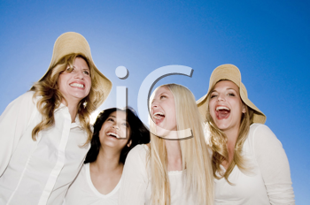 Royalty Free Photo of Four Women Laughing