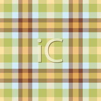 Royalty Free Clipart Image of a Plaid Pattern