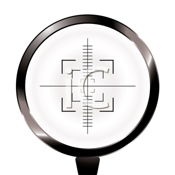 Royalty Free Clipart Image of a Scope