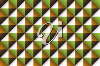 Green brown and orange abstract wallpaper background