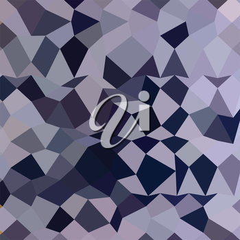 Low polygon style illustration of a licorice black abstract geometric background.