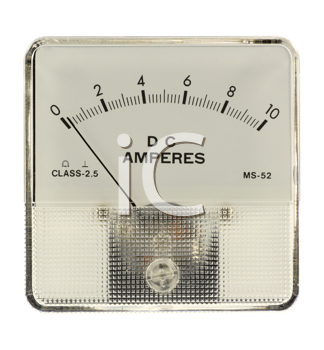 Royalty Free Photo of an Amperemeter