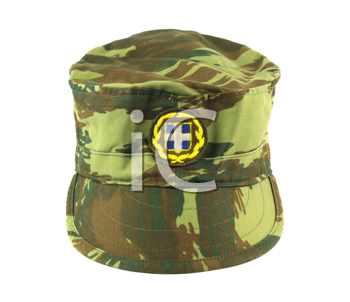 Royalty Free Photo of a Greek Army Cap