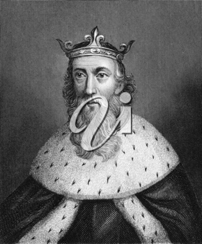 Henry I of England (1068-1135) on engraving from 1830. King of England during 1106-1135. Published in London by Thomas Kelly.