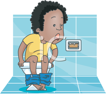 Royalty Free Clipart Image of a Person Seeing no Tissue