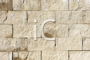 Royalty Free Photo of a Wall of Grey Stones