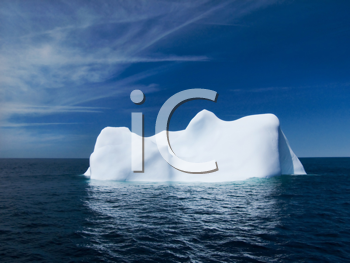 Royalty Free Photo of an Iceberg