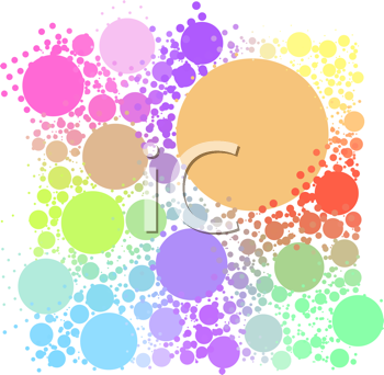 Royalty Free Clipart Image of a Ball Background