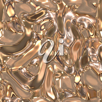 Seamless metallic liquid texture