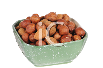 Royalty Free Photo of a Bowl of Nuts