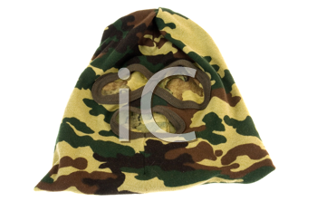 Royalty Free Photo of a Camouflage Mask