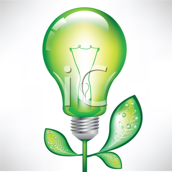 Royalty Free Clipart Image of a Light