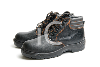 Royalty Free Photo of Work Boots