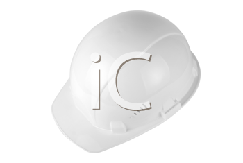 Royalty Free Photo of a White Helmet