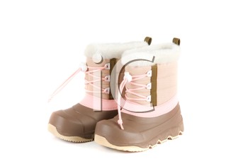 Royalty Free Photo of a Child's Winter Boots