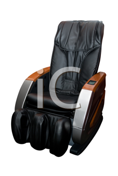 Massage armchair isolated on white background