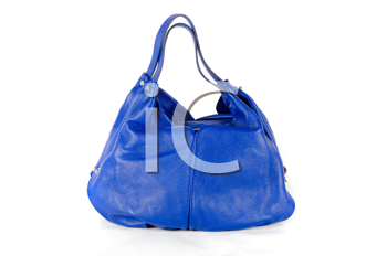 fashion women bag, isolated on a white background