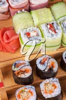 Japanese cuisine - sushi roll set