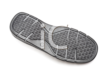 Royalty Free Photo of the Sole of a Shoe