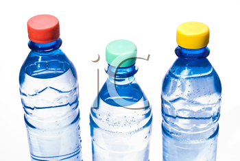 Royalty Free Photo of Bottles of Water