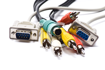 Royalty Free Photo of a Set of Cables
