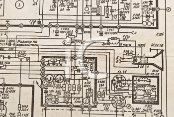 Royalty Free Photo of an Electronics Schematic