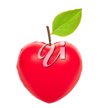 Red apple heart
